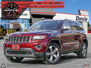 2016 Jeep Grand Cherokee LIMITED LUXURY II PKG 4WD