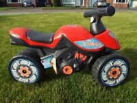 Falk Xrider 400 Children's Motorcycle Style Ride-On Toy