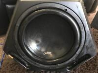 Quick sale - 12 inch juice sub with built in amp