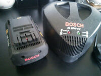 Bosch total battery and charger