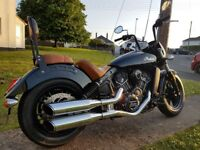 INDIAN SCOUT SIXTY (WITH EXTRAS)