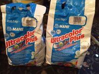 Ultracolor Plus Grout - Manhattan Grey 10KG (tiles, tiling, grout) 10KG x2 bags from Al Murad