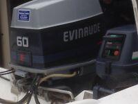 Outboard evinrude 60