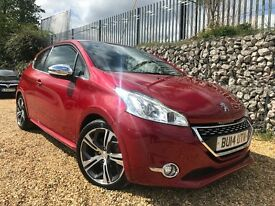 Peugeot 208 1.6 THP GTi 3dr (£0 DEPOSIT FINANCE AVAILABLE.)