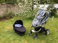 iCandy Apple 2 Pear pram / travel system for sale - almost immaculate condition