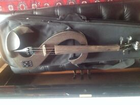 Electric Violin - great pickup and action, Stagg, Graphite gray with case.