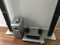 Panasonic SC-HT540 DVD Home Theater Sound System 5.1 Channel DTS, Dolby Digital