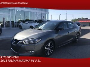 2018 NISSAN MAXIMA SV-CUIR-GPS-TOIT OUVRANT - VOLANT CHAUFFANT -