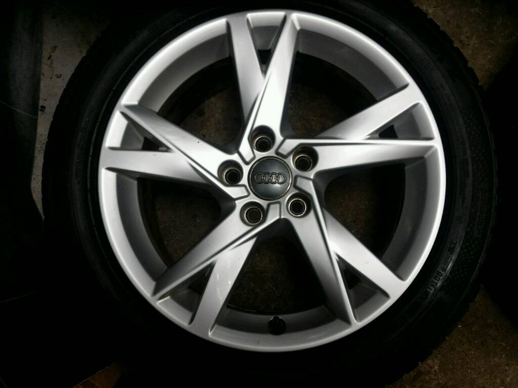 17 Inch 5x112 Genuine Audi A4 B9 Alloy Wheels In Ballymena