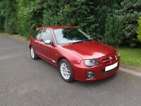 2004 MG ZR 120+ Stepspeed 3dr AUTOMATIC