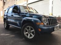 Jeep Cherokee 2006 2.8 TD Limited Station Wagon 4x4 5 door FULL SERVICE HISTORY, LEATHER, BARGAIN