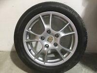 Genuine 17 Inch Porsche Alloy Wheels Unmarked. Free delivery in Fife