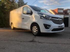 "New shape ""NO VAT"" Vauxhall Vivaro sportive lwb 115bhp"
