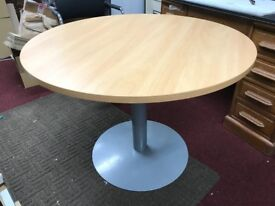 Round desk, table