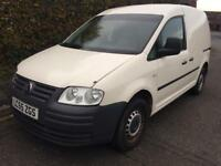 Volkswagen caddy diesel van 2005 55 reg side door tailgate fsh drives