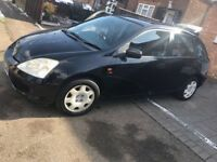 Honda Civic 1.6 petrol Automatic
