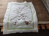 Beautiful Cot Bedding and Nappy Stacker Bags