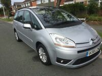 Citroen C4 Grand Picasso ( 7 Seater) 1.6 Manual VTR+ 2008 (58) Plate