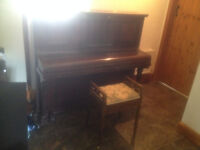 Dawson of London Upright Piano and Stool