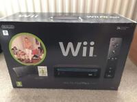 Wii Fit plus pack - black - excellent condition