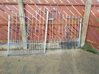 7ft 8 inch galvanised gates