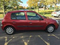 2004 Renault Clio 1.2 Auto 16v Expression QS5 5dr Automatic Low Mileage Car HPI Clear @07445775115