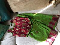 NEW Indian Pakistani Traditional Chaniya Choli Lehenga Diwali Garba Lengha 6-7-8 NW6/Gunnesbury
