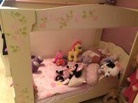 Toddler bed/kids bed/wardrobe/book shelf