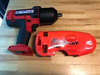 Snap on power tools
