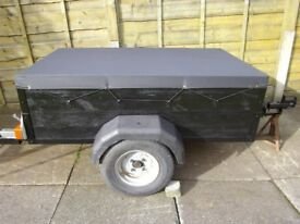 used car trailer 5`x3`x18""