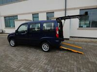 2010 60 Plate Fiat Doblo 1.4 Dynamic Wheelchair Accessible Vehicle ONLY 14,241 Miles Disabled