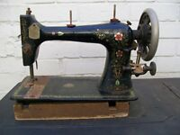 Vintage Bradburys Medium VS sewing machine. Shed Find. Restore, Spares, Repair.