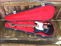 Guild Telecaster model T-200 (Black, 1978)
