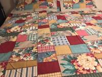 Curtains double duvet cover matching pillow cases DORMA