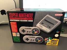 SNES CLASSIC MINI - BRAND NEW, UNOPENED - COLLECT BEFORE CHRISTMAS! **SOLD OUT AT ALL SHOPS**