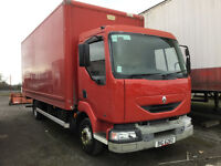 2001 Renault Midlum 150.08 Box Truck for Auction