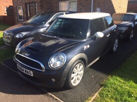SWAP for 4 door or larger | Mini Cooper S | 57000 miles | lounge leather | heated front | 175bhp
