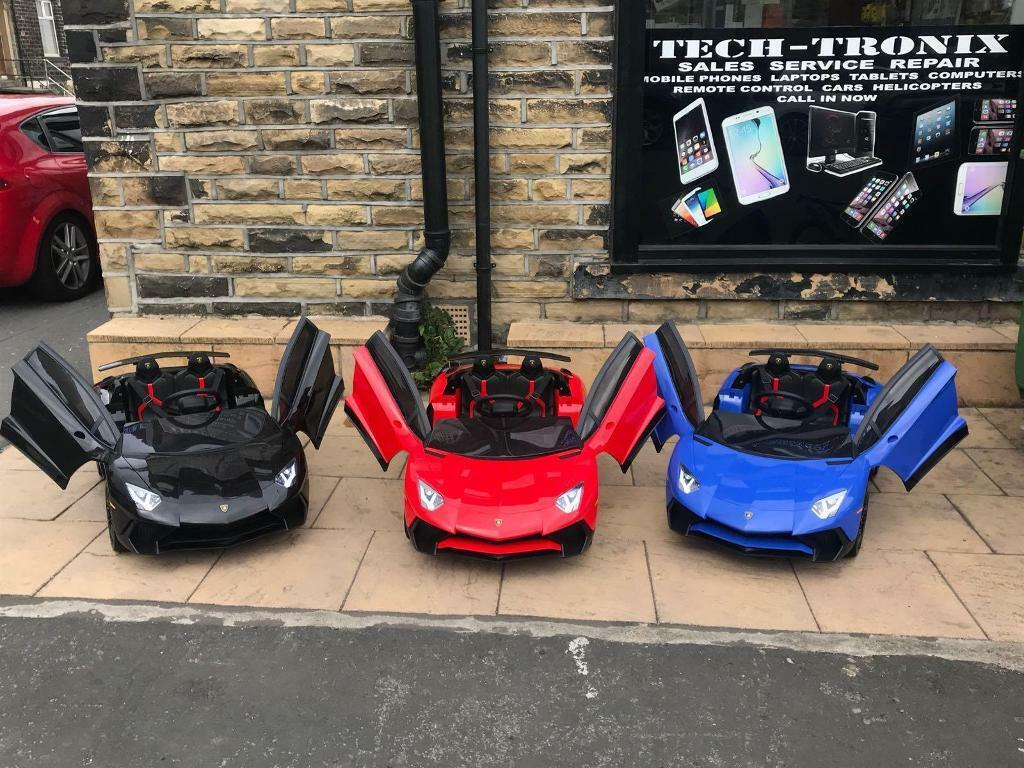 Lamborghini Sv Roadster In Red Orange White Blue Black Kids