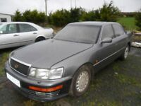 lexus ls 400 parts from a 1990 car grey