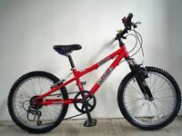 "(2073) 20"" 11"" Lightweight Aluminium DAWES BOYS GIRLS MOUNTAIN BIKE BICYCLE Age:7-10 Height125-145cm"
