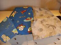 2 Boys Single Bedding Duvet covers