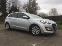 2015 Hyundai i30 1.6 CRDI S blue drive estate