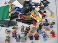 lego with lots of figures