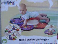 Spin explore and Garden Gym