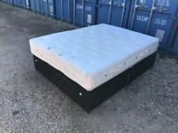 Luxury King Size Bed & Thick Mattress Clean Condition. (Local Pick Up Only)