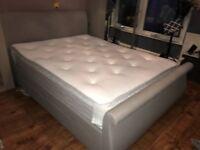King Size Bed Frame & Pocket Spring Mattress