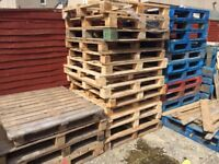 Pallets £2 each. Collection only