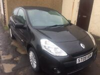 2009 renault clio extreme 1149 cc.3 door hatchback*full service records 58000 miles*