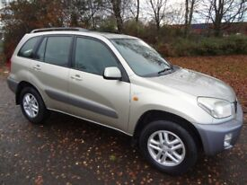 TOYOTA RAV4 52/2002 4x4, Long MOT, Ideal Winter Car