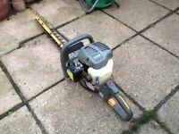 Ryobi petrol hedge cutter. In good working order.